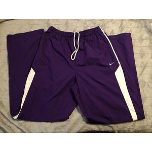 Purple Nike Track Pants